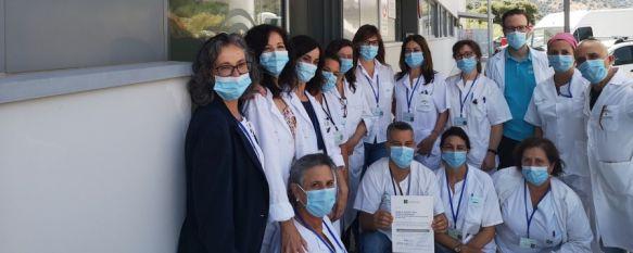 La Unidad de Farmacia del Hospital recibe el sello de calidad de la Consejería de Salud, El centro ha obtenido este certificado en nivel tras un proceso de evaluación externa a cargo de la Agencia de Calidad Sanitaria de Andalucía, 13 Jul 2020 - 12:06