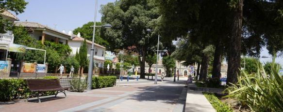 Ronda registraba el último caso activo en el Hospital Comarcal el pasado 28 de mayo. // Juan Velasco