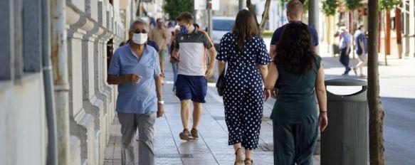 Ronda acumula 163 contagios acumulados del total de 214 registrados en la comarca desde el pasado mes de marzo. // Juan Velasco