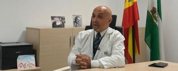 La renuncia de Vázquez, además de por motivos de índole personal, está inevitablemente ligada a las circunstancias que han rodeado al funcionamiento y cierre momentáneo de la UCI del Hospital Comarcal. // CharryTV