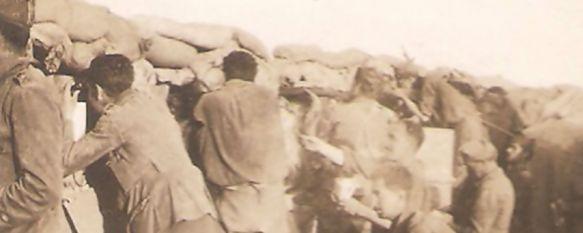 Foto real e inédita de un blocao, fechada en 1924 y donada por el nieto del autor // Archivo JS