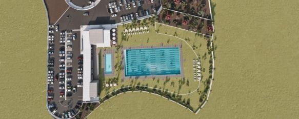 La nueva piscina municipal contará con una inversión de 1,7 millones de euros, El proyecto ha sido presentado por la alcaldesa de Ronda, aunque no cuenta, de momento, con dotación presupuestaria ni fecha para el inicio de los trabajos, 22 Sep 2020 - 18:13