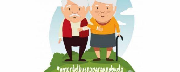 """Una rondeña crea una campaña para mandar mensajes de apoyo a los usuarios del Asilo, Bajo el título """"Amor del bueno para un abuelo"""", Andrea Rosado pretende que los vecinos se solidaricen con los mayores que no pueden recibir visitas en el centro, 22 Sep 2020 - 19:37"""