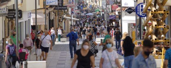 Según el informe web de la Consejería de Salud, la ciudad de Ronda ha registrado 85 diagnósticos de COVID-19 en las últimas dos semanas. // Juan Velasco