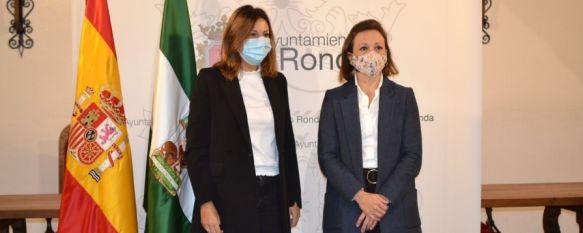Navarro anuncia 200.000€ para la licitación del estudio de viabilidad de la autovía, La delegada del gobierno andaluz en Málaga ha anunciado varias…, 20 Oct 2020 - 13:58