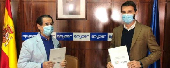 Apymer y Charry alcanzan un acuerdo para apoyar al empresariado local , El convenio de colaboración permitirá obtener un ahorro para…, 21 Oct 2020 - 13:50
