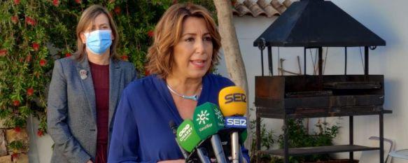 El PSOE propone ubicar en Ronda una extensión de la Universidad de Málaga, La presidenta de la formación en Andalucía, Susana Díaz,…, 28 Oct 2020 - 13:57