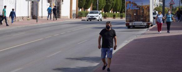 Un total de 211 vecinos de Ronda han sido diagnosticados con COVID-19 en los últimos 14 días. // Juan Velasco