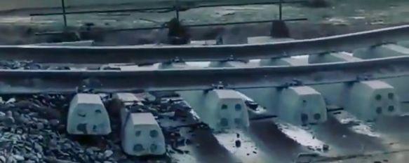 Cinco heridos leves tras descarrilar el tren Intercity entre Algeciras y Madrid en Teba , El temporal de lluvia que afecta al interior de la provincia ha provocado importantes daños en las vías, al igual que sucedió hace ahora dos años , 05 Nov 2020 - 19:22