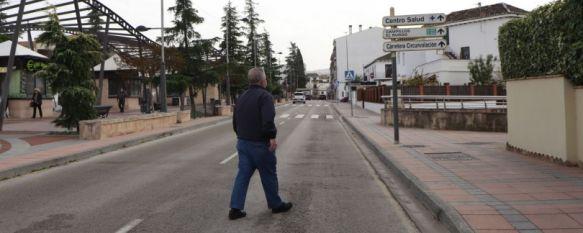 La tasa de incidencia en Ronda logra estabilizarse y llega a los 835 contagios por cada 100.000 habitantes. // Álvaro Vélez