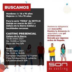 Los castings para seleccionar a 750 extras residentes en la zona se llevarán a cabo entre Ronda y Zahara de la Sierra. // Son de Casting