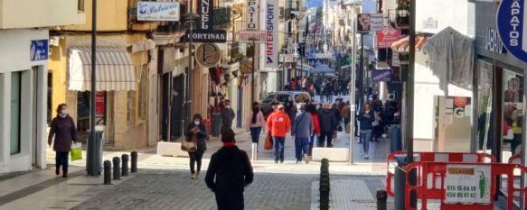 La tasa de incidencia acumulada en los últimos 14 días en Ronda supera los 1.000 contagios por cada 100.000 habitantes. // Juan Velasco