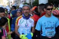 La avenida Virgen de La Paz ha albergado la salida en las últimas ediciones // Manolo Guerrero