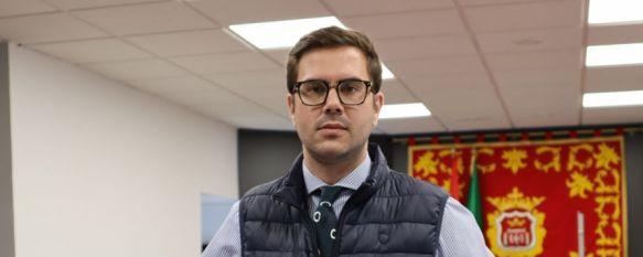 Ángel Martínez, concejal de Recursos Humanos // CharryTV