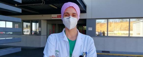 """""""Me siento afortunada de la formación que he tenido en Ronda"""", La médico de Urgencias Rocío Lorenzo, Mejor Expediente MIR…, 23 Feb 2021 - 12:52"""