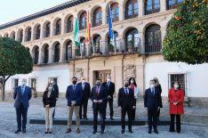El Consejo de Gobierno de la Junta de Andalucía se ha reunido hoy por primera vez en Ronda // CharryTV