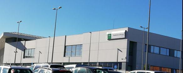 En torno a 50 pacientes con coronavirus continúan ingresados en el Hospital Comarcal de la Serranía. // CharryTV