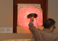 La pieza original procede del Museo Arqueológico de la ciudad griega de Tesalónica // RMR