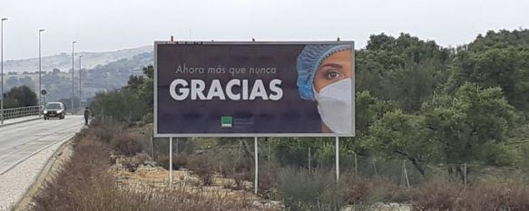 SATSE reconoce el esfuerzo de enfermeros y fisioterapeutas por su papel durante la pandemia, Con una nueva campaña a nivel provincial, que también se desarrolla en Ronda, el sindicato pretende agradecer y visibilizar el trabajo de miles de sanitarios, 08 Mar 2021 - 17:05