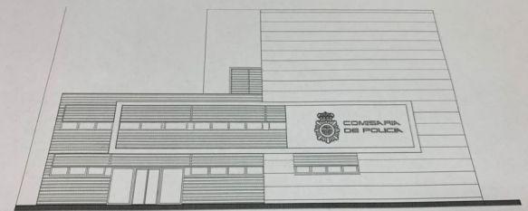 La DGP solicita la licencia de obras para reformar y ampliar la Comisaría de Ronda , El proyecto contaría con una inversión aproximada de 1,5 millones de euros y la entrada al edificio se realizaría exclusivamente por la avenida de Málaga, 11 Mar 2021 - 18:43