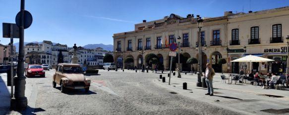 En la última semana 31 vecinos de la Serranía de Ronda han dado positivo en COVID-19. // Juan Velasco