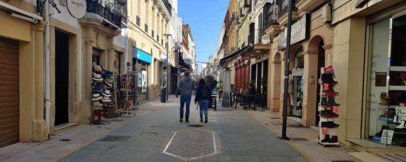 En la última semana 11 vecinos de Ronda han dado positivo en coronavirus. // Juan Velasco