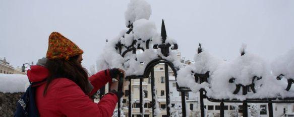 Frío, lluvia y nieve para este fin de semana en Ronda, El desplome de las temperaturas en los próximos días podría provocar precipitaciones en forma de nieve en la jornada del sábado, según anuncia la AEMET. , 16 Mar 2021 - 19:14