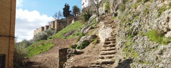 Ollería y La Cijara: dando pasos en la recuperación de los caminos históricos de Ronda, El proyecto, a cargo de los arquitectos Sergio Valadez y Francisco Gil, verá la luz a mediados de mayo para ampliar el circuito de rutas que bordean la muralla, 24 Mar 2021 - 13:42