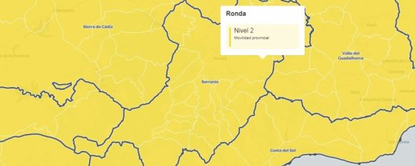 El Comité de Alertas anuncia que la Serranía se mantiene en el Nivel 2 de alerta COVID , Montecorto mantiene su cierre perimetral, sin embargo, y a pesar de rebasar la tasa mil, podrá abrir su actividad no esencial al contar con menos de 1.500 habitantes, 25 Mar 2021 - 18:14