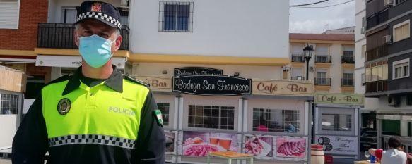 """Manuel Gamarro: """"Es muy gratificante haber salvado la vida a una persona"""", Fuera de su jornada, el agente de la Policía Local realizó…, 06 Apr 2021 - 16:58"""