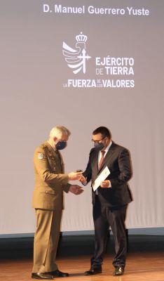 El acto se desarrolló en el Cuartel General de la Fuerza Terrestre // CharryTV