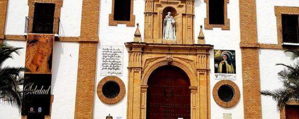 El templo abrirá sus puertas por primera vez desde finales de enero, cuando la detección de un brote de COVID-19 obligó a cerrar sus dependencias. // María Santísima en la Soledad Ronda