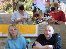 Numerosos británicos han decidido venir a vivir a la Serranía de Ronda en las últimas décadas, entre ellos Julie, Carolyn, Heather y Wayne. // CharryTV