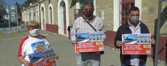 La marcha se iniciará el próximo sábado en la estación de ferrocarril de Arriate. // CharryTV