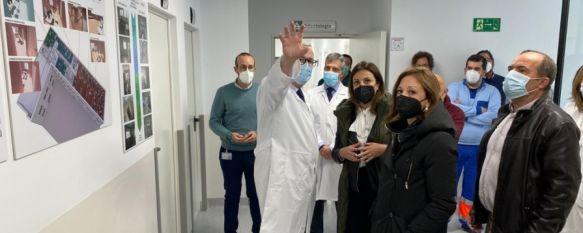 La reforma del centro de salud Ronda-Sur, Santa Bárbara, supera los 1,2 millones de euros, Según la delegada provincial del gobierno de la Junta la pandemia supuesto una oportunidad para mejorar infraestructuras sanitarias de la provincia, 27 Apr 2021 - 19:12