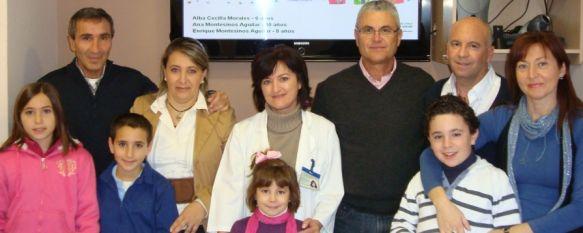 El Área Sanitaria Serranía de Ronda entrega los premios del III Concurso de Tarjetas Navideñas, En el certamen han participado los niños ingresados en Pediatría y los hijos de los profesionales del centro, 29 Dec 2011 - 15:51