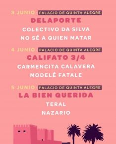 El festival comenzará el próximo 3 de junio en el Palacio Quinta Alegre. // Noches en Órbita