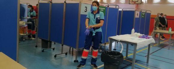 El Área Sanitaria Serranía administrará esta semana 1.800 vacunas contra el COVID-19, Durante el fin de semana los casos activos de coronavirus repuntan levemente, mientras que la presión hospitalaria se reduce a seis ingresos relacionados con la pandemia, 17 May 2021 - 13:46