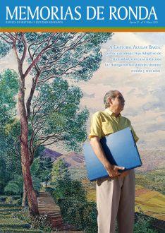 El último número de Memorias de Ronda, patrocinado por la Fundación Unicaja, es un monográfico que incluye obras pictóricas y escritas sobre la trayectoria de Cristóbal Aguilar. // Ayuntamiento de Ronda