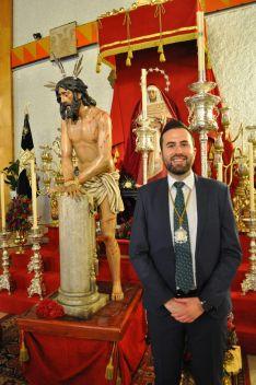 El Hermano Mayor ha manifestado su intención de fomentar la unión y participación de los hermanos en torno al día a día de la hermandad. // Diego Sánchez Pozo