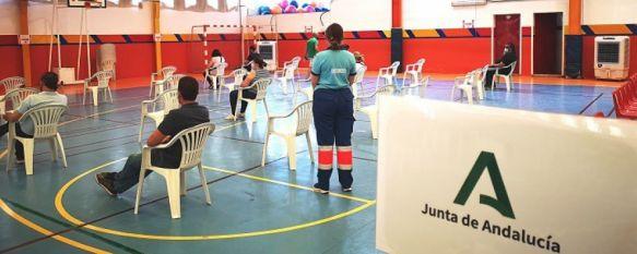 La pandemia remite levemente en la Serranía durante el fin de semana