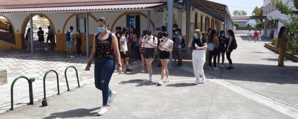 Alrededor de 300 estudiantes de bachillerato de Ronda y la comarca se presentarán este año a Selectividad. // CharryTV