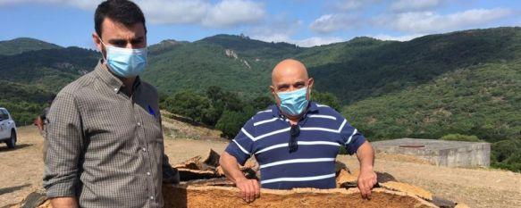 Comienzan los trabajos de la saca del corcho en los Montes de Propios, La campaña prevé cerrarse tras la obtención de 7.000 quintales métricos de la zona de Diego Duro, 17 Jun 2021 - 18:10