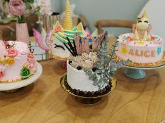 Zamudio diseña tartas para ocasiones especiales con ingredientes de la zona. // Sueños de mi marquesita