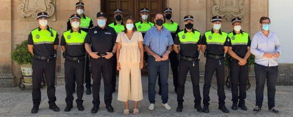 Nueve efectivos en prácticas se incorporan al Cuerpo de Policía Local hasta noviembre, Los nuevos policías iniciaron su formación en el Instituto de Emergencias y Seguridad Pública de Andalucía de la localidad sevillana de Aznalcázar en marzo, 05 Jul 2021 - 19:55