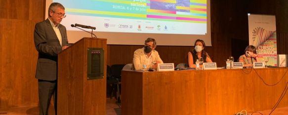 Sierra de las Nieves se beneficiará de parte de los fondos a la biodiversidad, Así lo ha confirmado el secretario de Estado de Medio Ambiente, Hugo Alfonso Morán, durante su visita a los Cursos de Verano de la UMA en Ronda, 06 Jul 2021 - 16:26