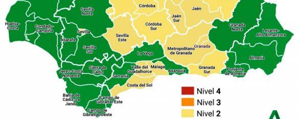 La Serranía se mantiene en Nivel de Alerta COVID 1 pese al repunte de casos, En la última semana la incidencia acumulada en Ronda supera los 200 contagios por 100.000 habitantes en 14 días, situándose en nivel de riesgo alto, 08 Jul 2021 - 13:27