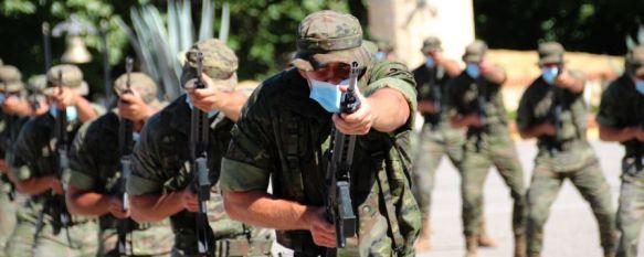 Las unidades de La Legión en Ronda reciben a 66 nuevos legionarios tras superar la UFAL, Los aspirantes han recibido el gorrillo que los acredita como Damas y Caballeros Legionarios en un acto presidido por el general Melchor Marín, jefe de la BRILEG, 08 Jul 2021 - 18:43