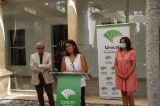 Además de exposiciones, la directora Emilia Garrido ha destacado la organización de actividades orientadas al ámbito educativo y arteterapias. // María José García