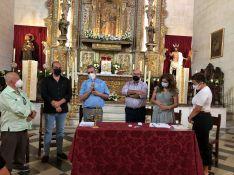 La toma de posesión de la junta de gobierno se materializará el próximo mes de septiembre. // Santo Entierro Ronda